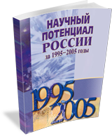Scientific Potential of Russia in 1995 – 2005