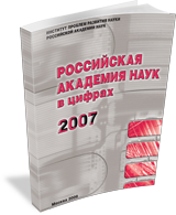 Russian Academy of Sciences in Figures: 2007