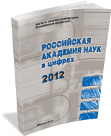 Russian Academy of Sciences at a Glance: 2012